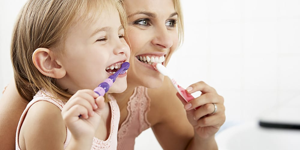 wantirna dentist mother daughter smiling dentist wantirna south